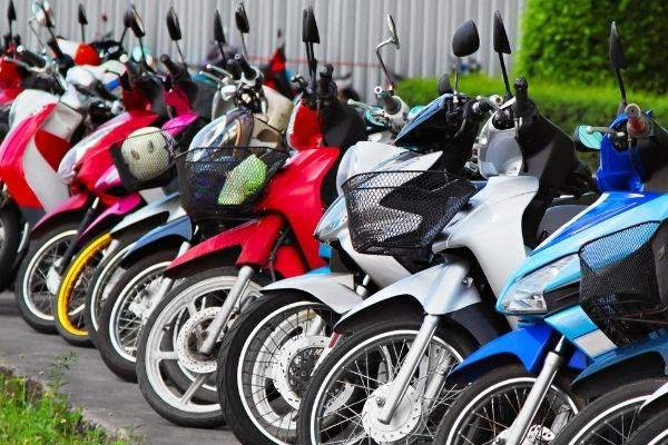 Motorbike fleet insurance.